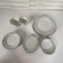 13 Sheffield Blue Whisper Porcelain Fine China Japan Plates - $67.99