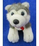 "Build A Bear Workshop Husky Plush 7-1/2"" Long - $8.90"