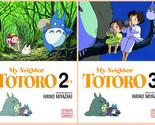 My Neighbor Totoro Series Children's MANGA by Hayao Miyazaki Set Books 1-4!