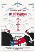 stanley kubrick's DR. STRANGELOVE movie poster 1964 PETER SELLERS 24X36 - $19.00