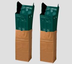 2~Luster Leaf Lawn & Leaf Chute Bag Holder For 30 Gallon leaf bags Plast... - £29.25 GBP