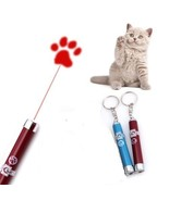Cool Cat or Kitten LED Laser Pointer Paw Print Pen/Toy  (Chase Toy) - $6.99