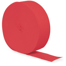 Touch of Color Crepe Streamer 81 Ft. Coral/Case of 12 - ₨1,708.85 INR