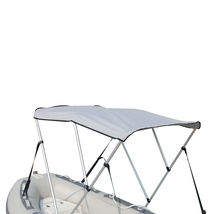 Portable Bimini Top Cover Canopy For Length 14 -16 ft Inflatable Boat (3 bow) image 2