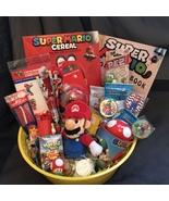 Super Mario Gift Basket - $60.00