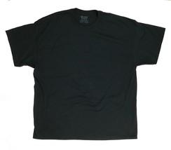 New Gildan DryBlend Short Sleeve Shirt Black Men's 4XL Crew Neck - $7.43