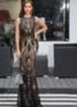 Women's Sexy Sleeveless Retro Geometric Sequin Party Dress image 3