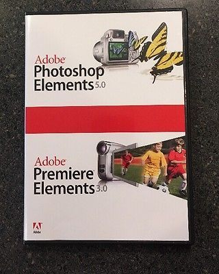 Adobe Photoshop Elements 5.0/Premier Elements 3.0 for Windows