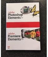 Adobe Photoshop Elements 5.0/Premier Elements 3.0 for Windows - $8.49