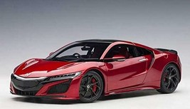 AUTOart 1/18 Honda NSX (NC1) 2016 Valencia Red Pearl Completed Product J... - $363.00