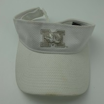 Missouri Tigers Mizzou New Era Visor White Silver Adjustable Adult Ball Cap Hat - $13.85