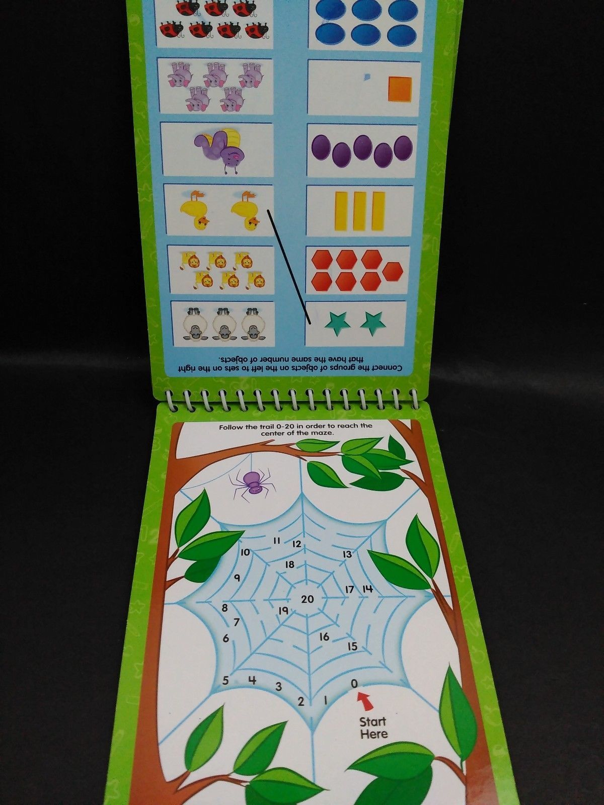 Leap Frog Math Skills K1 Dry Erase Activity and 50 similar items