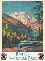9756.Decoration Poster.Room Wall art.Home interior decor.Rainier National Park - $11.29+