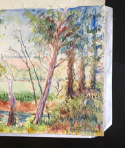 Armand Guillaumin Pastel Color Book 6 drawings Original 1918 Book #2   - $17,000.00