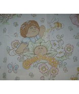 VINTAGE 1983 CABBAGE PATCH DOLLS KIDS TWIN FLAT SHEET BEDDING XAVIER ROB... - $25.40