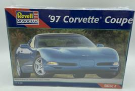 1997 Chevrolet Corvette Coupe Revell model kit #85-2490 1/25 Scale NEW S... - $28.75