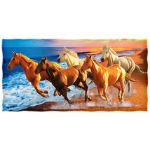 """Horses on the Beach  Beach and Bath Towel 30"""" X... - $26.72"""