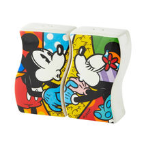 "Disney Britto 3"" high Mickey & Minnie Design Salt & Pepper Shakers Set   image 3"