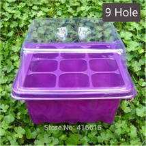 Tray Seedling Nursery Bud Sprouts Hydroponics Wheat Grass Implant Sprout... - $21.13 CAD