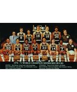 1970-71 MILWAUKEE BUCKS 8X10 PHOTO BASKETBALL PICTURE WORLD CHAMPS WIDE ... - $3.95