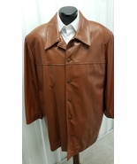 Bart Lisetto Nappa Leather Button Front Jacket, Size 44 - $149.00