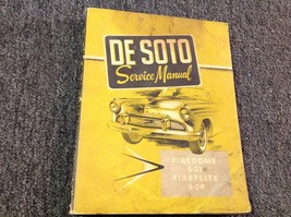 1956 Desoto Firedome Fireflite Shop Service Workshop Repair Manual NEW - $88.06
