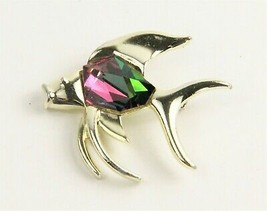 Vintage Jewelry Sarah Coventry Fish Brooch - $10.00