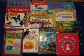 Childrens Books Assorted Lot.Scholastic,Random House,Houghton Mifflin Di... - $7.92