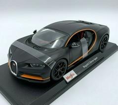 2020 Bugatti Chiron Sport Matt Black Die Cast 1/18 Maisto Special Edition   - $29.99