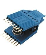 IC Test Clip, SOJ, SOIC, 16 Contacts, 1.27 mm, Gold Plated Contacts - $14.99