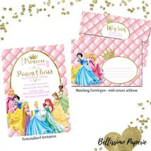 Princess Invitation with matching envelope, Any Occasion Disney Princess - £1.05 GBP+