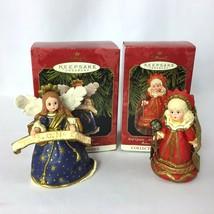 Hallmark Keepsake Madame Alexander Red Queen Ornaments & Angel of the Nativity  - $10.00