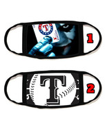 Texas Rangers Face Mask with black string reusable washable #3 - $14.54+