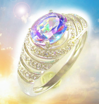HAUNTED RING VIOLET GATES ACCESS HIGHEST PSYCHIC POWER MAGICK OFFERS SCHOLARS  - $377.77