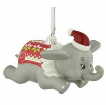 Disney Parks Dumbo wearing an Ugly Sweater Christmas 3D Ornament - $24.74