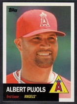 2016 Topps Archives Albert Pujols #1 Los Angeles Angels - $0.89