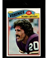 1977 TOPPS #521 BOBBY BRYANT EXMT VIKINGS NICELY CENTERED  *X3714 - $2.97