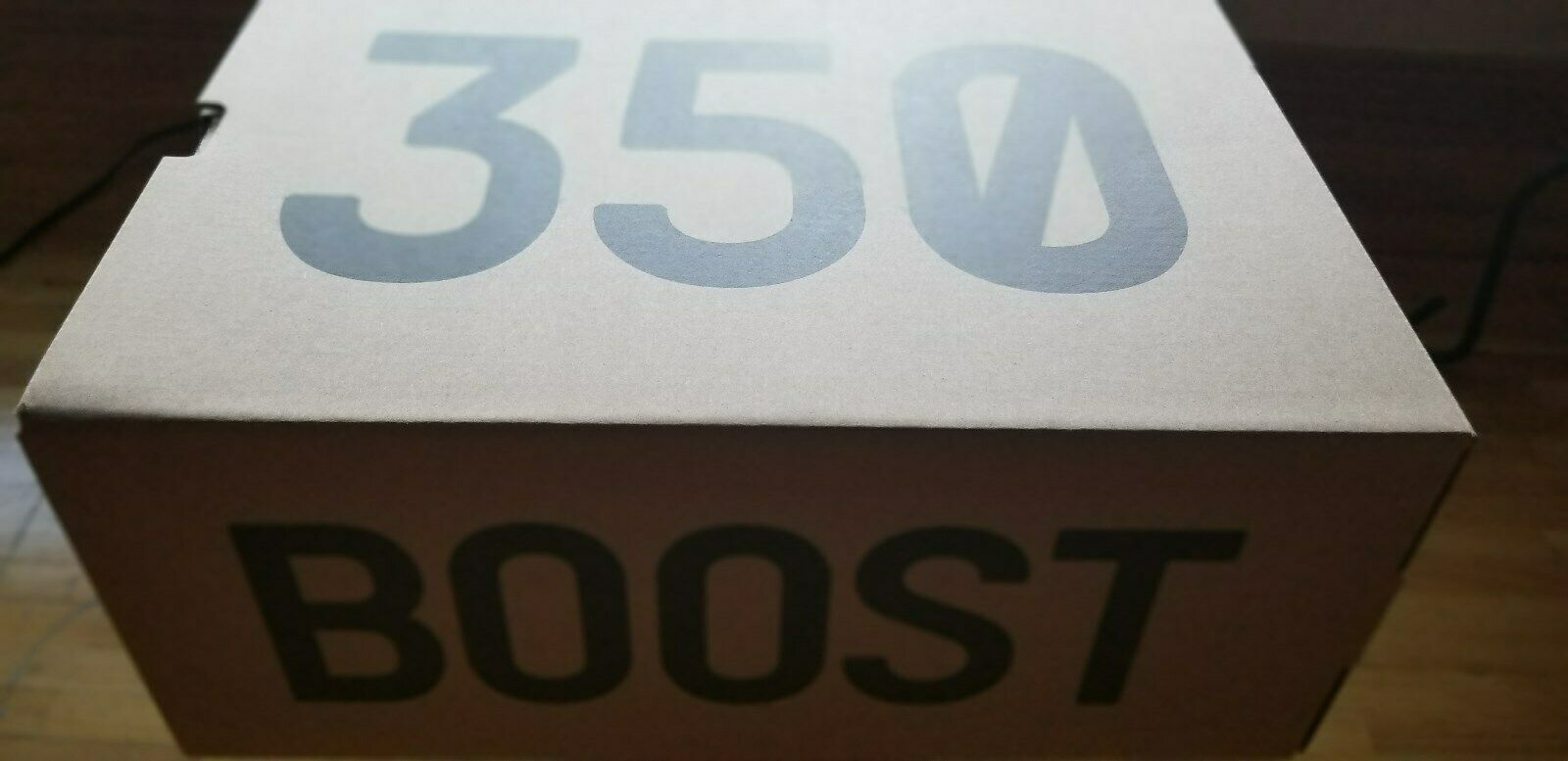 NEW ADIDAS YEEZY 350 V2 SEMI FROZEN YELLOW B37572 BRAND NEW IN THE BOX image 5