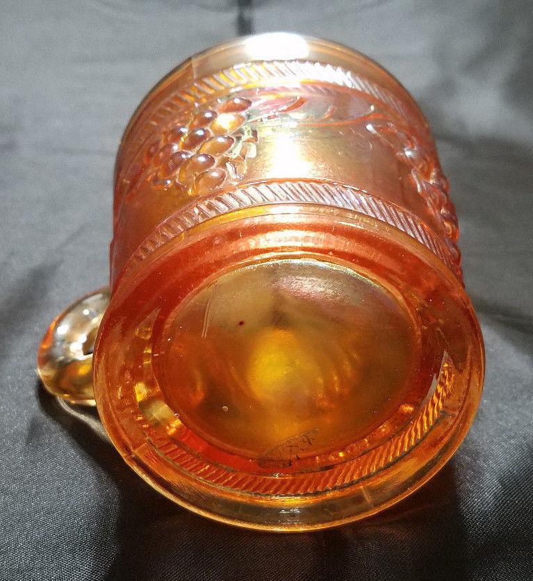 VINTAGE BANDED MARIGOLD MUG BY DUGAN GLASS