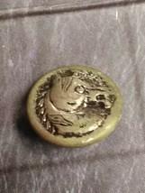 Metal vintage horse button - $4.95