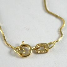 Chain Yellow Gold Or White 18K, Mini Jersey Venetian, Thickness 0.5 MM,60 CM image 3