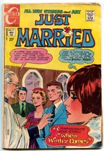 Just Married #80 1971-Charlton Comics- When Winter Comes G - $22.70