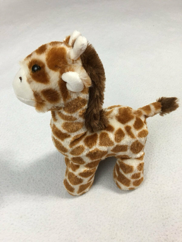 Primary image for Manhattan Toy Company Voyagers Olive Giraffe Plush Stuffed Animal 9""