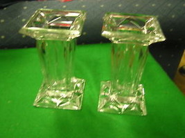 Outstanding Pair PARTYLITE Crystal VASES................................... - $22.97