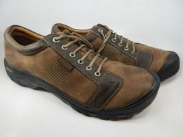 Keen Austin Taglia 17 M (D) Eu 49 Uomo Allacciate Oxford Scarpe Casual Marrone
