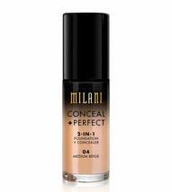 Milani Conceal + Perfect 2-in-1 Foundation + Concealer 04 Medium Beige 1... - $9.74