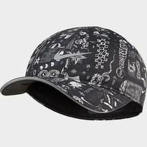 NEW! Nike Adult Unisex AEROBILL Running Strapback HAT, Black/White CQ9369-010 - £52.74 GBP