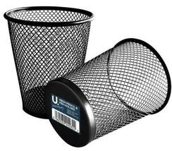 Black Mesh Pencil & Pen Holder Ideal For Use In Office - $6.28