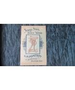 ca 1890 A H POMEROY Catalog, Scroll Saws, Fancy Wood, Lathes, Clocks, 24... - $115.94