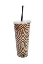 Vera Bradley Travel Tumbler Zebra - $6.99